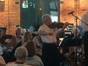 Michal Sobieski, Violin
